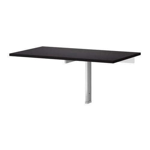 """IKEA Wandklapptisch """"Bjursta"""" Klapptisch in 90x50cm - Küchentisch Laptoptisch Kindertisch"""