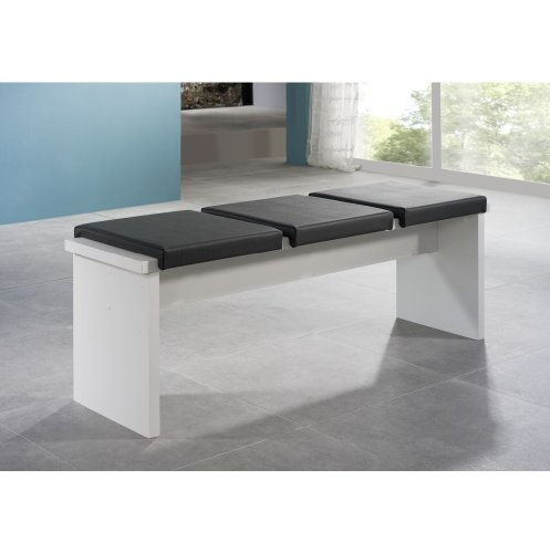 sitzbank 0585 140 weiss matt m bel24. Black Bedroom Furniture Sets. Home Design Ideas