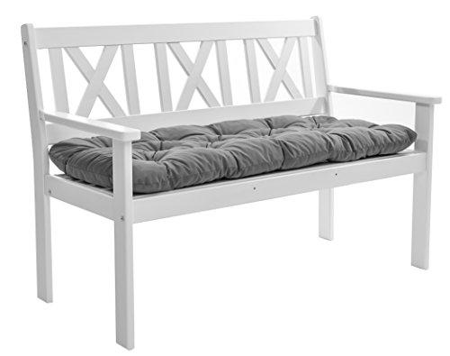 trendy home24 massivholz bank wei ca 120 cm landhausstil k chenbank shabby chick sitzbank mit. Black Bedroom Furniture Sets. Home Design Ideas
