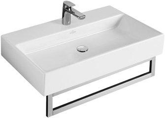 Villeroy & Boch Waschbecken MEMENTO 60x42cm ohne Hahnloch ohne Überlaufloch weiß alpin 51336301