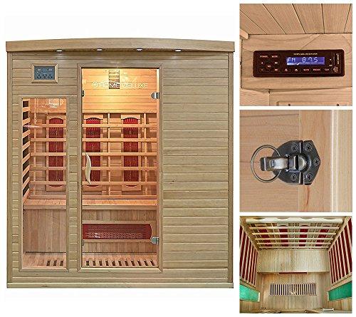Home Deluxe Tropical XL Infrarotsauna, inkl. vielen Extras und komplettem Zubehör