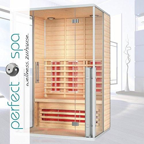 infrarotkabine menorca infrarot sauna f r bis zu 2 personen w rmekabine infrarotsauna m bel24. Black Bedroom Furniture Sets. Home Design Ideas