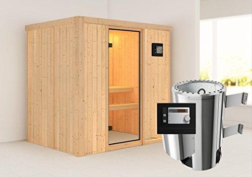 KARIBU Energie-Spar-Sauna FANJA Set2