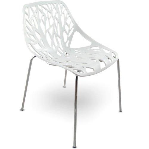MOJO Stuhl Küchenstuhl Plastikstuhl Retro Designer Stühle stapelbar