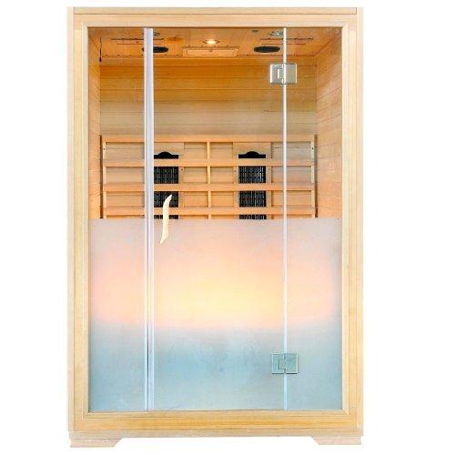 infrarotkabine w rmekabine sauna eck f r 4 person sonderaktion m bel fr m bel24. Black Bedroom Furniture Sets. Home Design Ideas