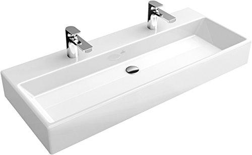 Villeroy & Boch Waschbecken MEMENTO 120x47cm für Möbel für 1-Lohne Armit ohne Überlauf weiß New Gory