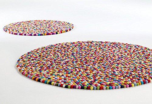HAY - Teppich Pinocchio - multicolour - Ø 90 cm