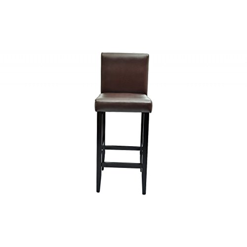 vidaXL 2 DESIGN Barhocker Bar Stuhl Hocker braun