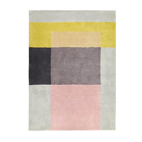 HAY S&B Colour Carpet Teppich 05, grün grau weiß 170x240cm