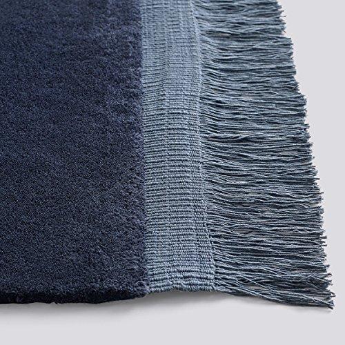 Hay Teppich Raw midnight blue 200 x 140cm