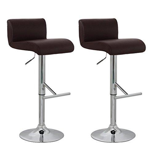 vidaXL 2 x DESIGN Barhocker Bar Stuhl Hocker LOUNGE Sessel Küche Barstühle Barstuhl 31