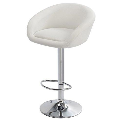 vidaXL 2 DESIGN Barhocker Bar Stuhl Drehstuhl LOUNGE Hocker Küche Barstühle Weiß NEU 13