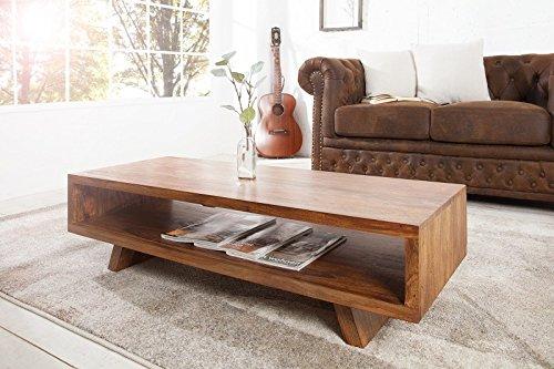 Invicta Interior 36790 Couchtisch/ TV-Board Retro, 110 cm, Sheesham