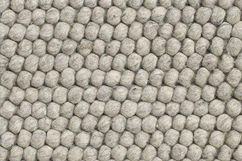 HAY - Peas Teppich - hellgrau - 140 x 80 cm