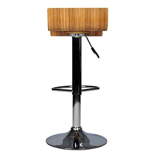 vidaxl 2 design barhocker bar stuhl holz drehstuhl lounge. Black Bedroom Furniture Sets. Home Design Ideas