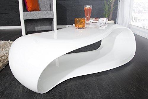 Invicta Interior 21771 Couchtisch Stream 110 cm, weiß