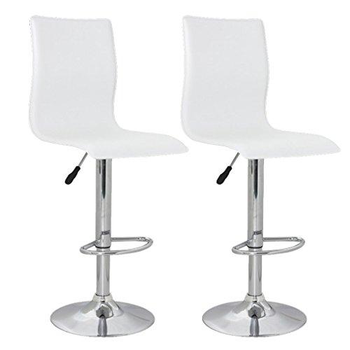 vidaXL 2 x DESIGN Barhocker Bar Stuhl Hocker LOUNGE Sessel Küche Barstühle Barstuhl 70