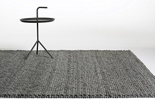 HAY - Peas Teppich - dunkelgrau - 80 x 200 cm