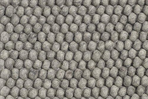 HAY - Peas Teppich - grau - 80 x 200 cm