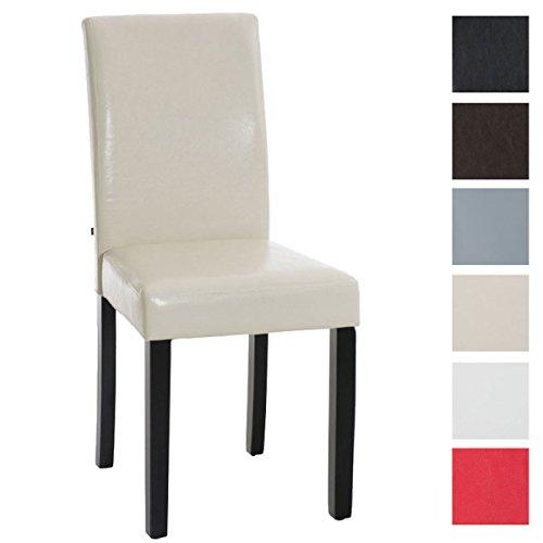 CLP Esszimmer-Stuhl INA, Bezug Kunstleder, Sitzhöhe 47 cm