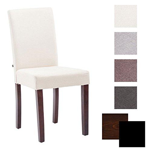 CLP Esszimmer-Stuhl INA, Holzgestell, Stoff-Bezug, Sitzhöhe 47 cm - FARBWAHL