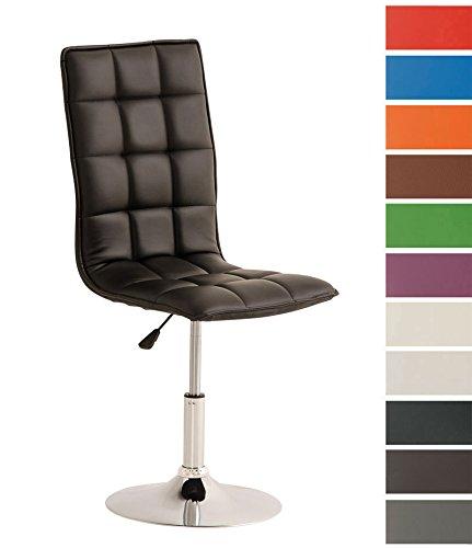 CLP Esszimmer-Stuhl PEKING, Lounge-Sessel modern, Sitzhöhe verstellbar 40-54 cm, Sitzfläche drehbar