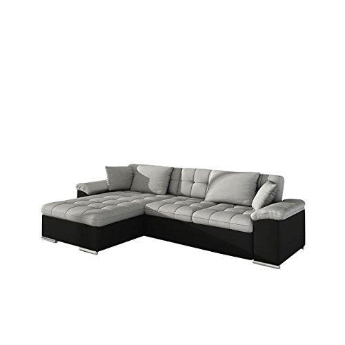 Großes Design Ecksofa Diana, Eckcouch mit Bettkasten und Schlaffunktion, Elegante Couch, Moderne Polsterecke Sofa, Farbauswahl, Couchgarnitur, Schlafsofa, Bettsofa vom Hersteller