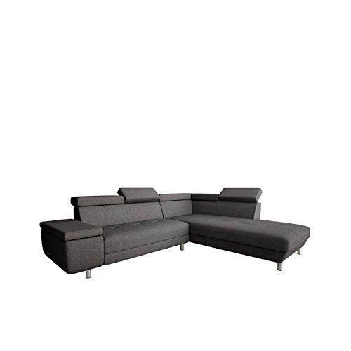 OUTLET !! Polsterecke Meriva Ecksofa Eckcouch! einstellbare Kopfstützen! L-Form Couch Couchgarnitur! Wohnlandschaft