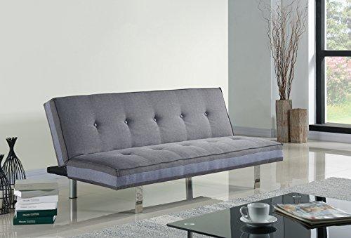 Schlafsofa Sofabett Couch 3 Sitzer Sofa Klappsofa für Familie