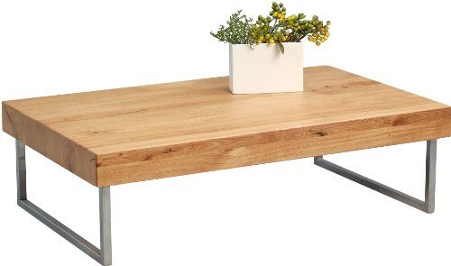 HomeTrends4You Couchtisch, Holz, Natur, 120x35x75cm