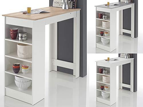 möbelando Bartisch Esstisch Tresentisch Küchentisch Bistrotisch Tisch Rosalyn I